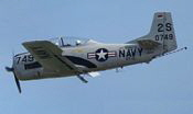 north american t-28 trojan (bavarian tailhook)